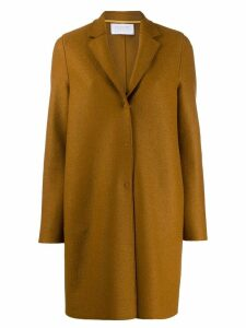 Harris Wharf London single-breasted coat - Brown