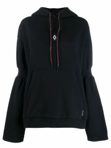 Marcelo Burlon County Of Milan logo hoodie - Black