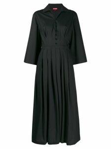 Staud pleated midi dress - Black