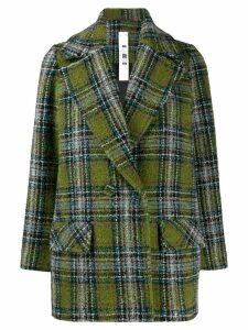 Ultràchic checked blazer - Green