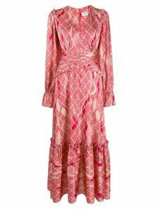 Three Floor Fantastic printed maxi dress - Pink