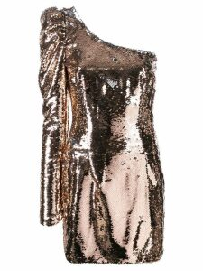 Amen sequin one shoulder dress - PINK