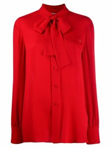 Valentino V plaque blouse - Red