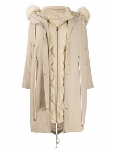 Liska Bless You parka - Neutrals