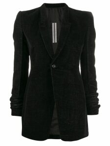 Rick Owens slim-fit below-the-hip blazer - Black