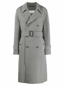 Maison Margiela belted coat - Grey