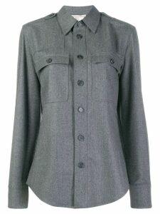 Stella McCartney classic wool shirt - Grey