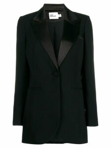 Self-Portrait formal tuxedo blazer - Black