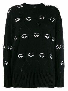 Kenzo Eye embroidered jumper - Black