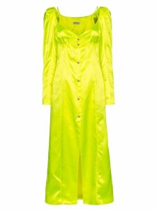 Supriya Lele satin midi dress - Yellow