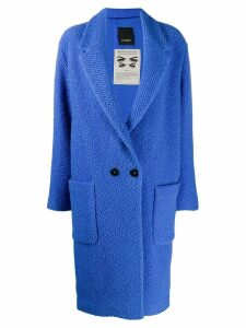 Pinko cocoon midi coat - Blue