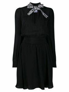 Moschino pussy bow dress - Black