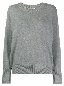 Kenzo intarsia logo jumper - Grey