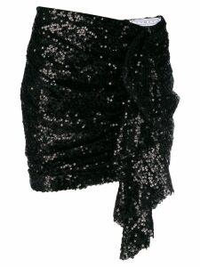 In The Mood For Love Emely sequin skirt - Black