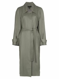 Low Classic collared trench coat - Green