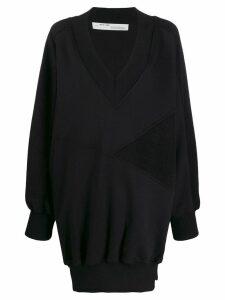 Off-White oversized knitted jumper - Black