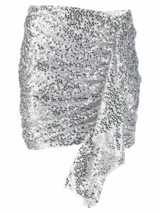 In The Mood For Love Emely sequin skirt - SILVER