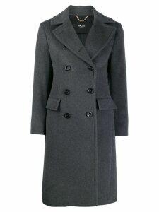 Paltò double buttoned coat - Grey