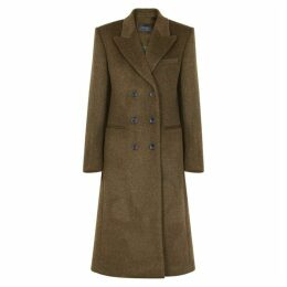 Isabel Marant Roleen Double-breasted Wool-blend Coat