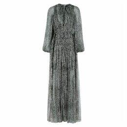 Stella McCartney Polka-dot Georgette Maxi Dress