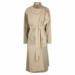 Rejina Pyo Sand Wool-blend Midi Dress