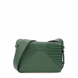 Lutz Morris Maya Crocodile-effect Leather Cross-body Bag