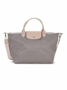 Tile-Print Shoulder Bag