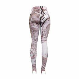 Nissa - 3D Floral Lace Asymmetrical Dress