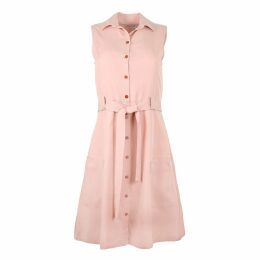 PAISIE - Frill Wrap Dress With Asymmetric Hem