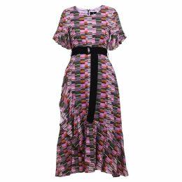 Emily Lovelock - Linen Printed Dress