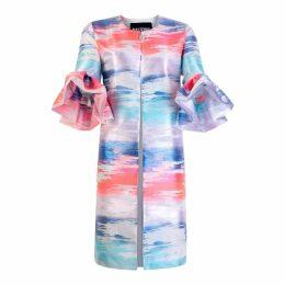 The Extreme Collection - Faux fur Knit Coat Mr. Moustache