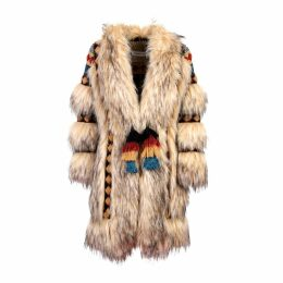 The Extreme Collection - Faux Fur Knit Coat Prince
