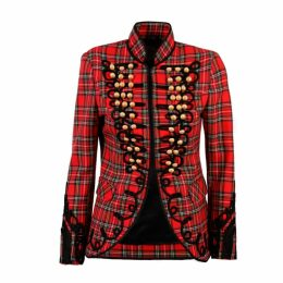 The Extreme Collection - Red Check Jacket Alex
