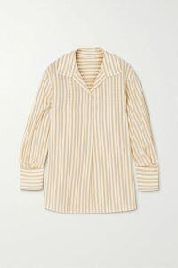 Balmain - Button-embellished Printed Cotton-jersey T-shirt - Black