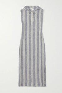 Paul & Joe - Metallic Knitted Turtleneck Sweater - Purple