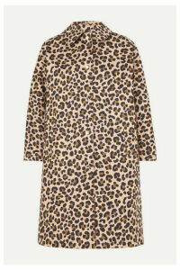 Mackintosh - Fairlie Leopard-print Bonded Cotton Coat - Leopard print