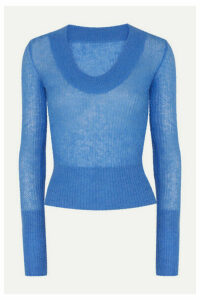 Jacquemus - Dao Knitted Sweater - Blue