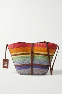 Equipment - Raydon Leopard-print Wool Sweater - Brown