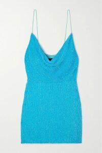 Valentino - Guipure Lace Midi Dress - Blush