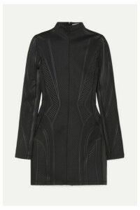 Mugler - Neoprene Mini Dress - Black