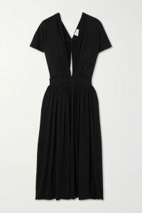 Alexandre Vauthier - Off-the-shoulder Crystal-embellished Stretch-jersey Mini Dress - Blush