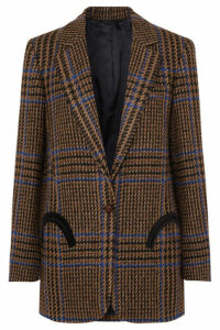 Blazé Milano - Cariba Weekend Checked Wool-blend Tweed Blazer - Brown