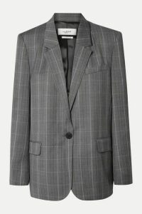 Isabel Marant Étoile - Verix Prince Of Wales Checked Wool Blazer - Gray