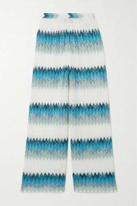 Blazé Milano - Foxy Lady Hunny Fringed Animal-print Felt Coat - Zebra print