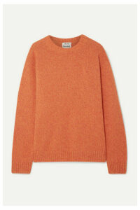 Acne Studios - Samara Mélange Wool Sweater - Orange