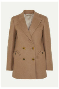Blazé Milano - Cholita Everyday Double-breasted Wool Blazer - Camel