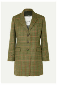 Giuliva Heritage Collection - Karen Checked Wool Blazer - Green