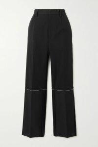 Moschino - Oversized Printed Cotton-jersey T-shirt - Green