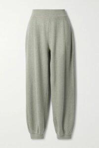 Preen Line - Gabriella Asymmetric Ruffled Crepe De Chine Maxi Dress - Midnight blue