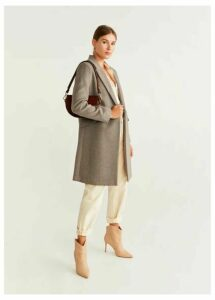 Lapels wool coat
